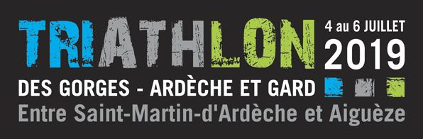 Logo officiel Triathlon Gorges de l'Ardèche